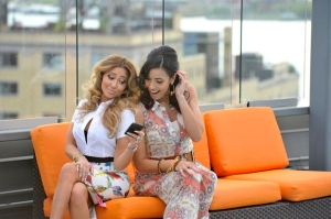 EMPIRE GIRLS: JULISSA & ADRIENNE -- OK! Shoot -- Pictured: (l-r) Adreinne, Julissa -- (Photo by: Charles Sykes/Style)